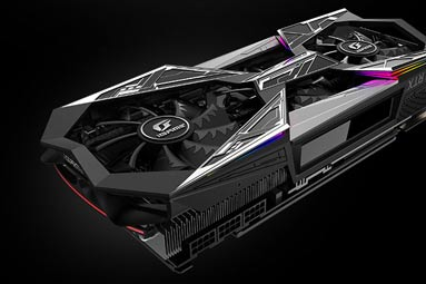 Colorful iGame 2080 Ti Vulcan X OC: exotické monstrum