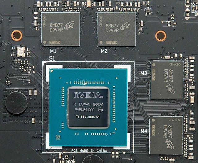 GPU GTX 1650 Max-Q