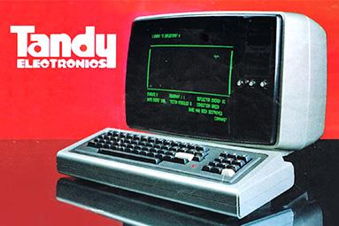 """První počítač """"pro chudé"""": Tandy TRS-80"""