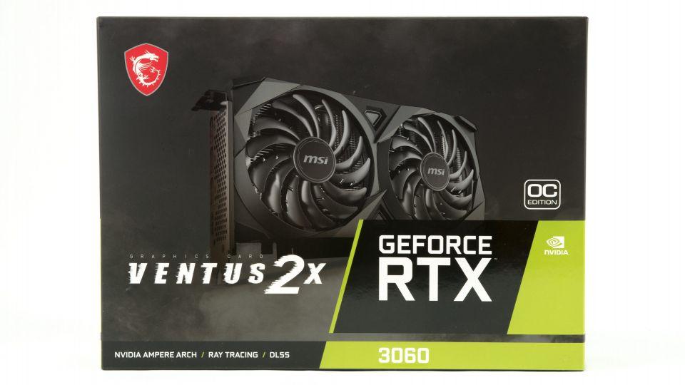 MSI GF RTX 3060 Ventus 2X 12GB OC: se základní výbavou