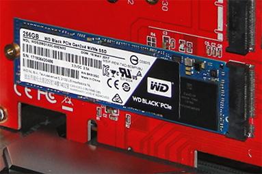 WD Black 256 GB: Nejlevnější M.2 SSD na trhu