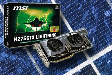 MSI GTX 275 Lightning -  solidní výkon, vysoká cena