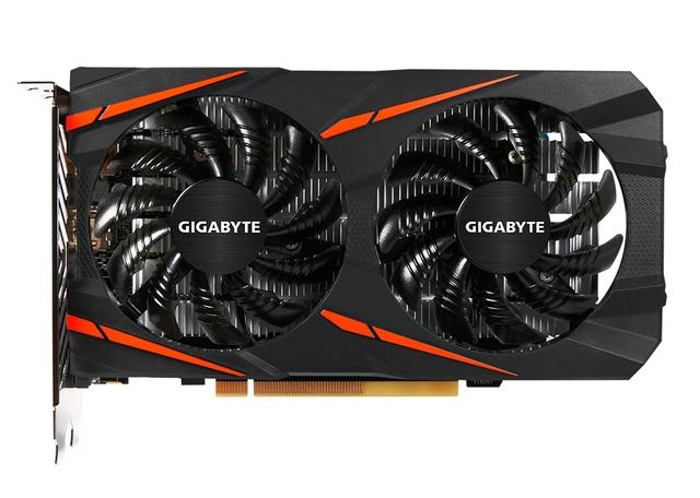 Gigabyte RX 460 se 2 GB paměti