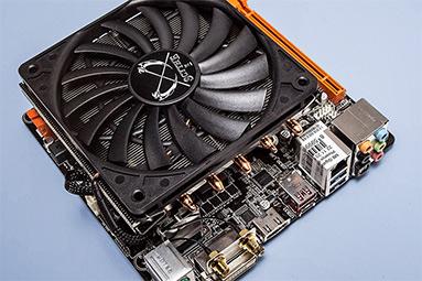 Chladiče pro HTPC: Když na procesor nastoupí těžká váha