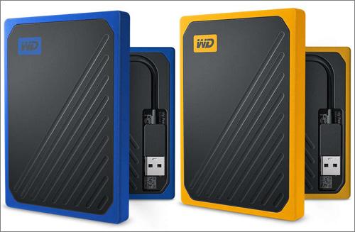 Western Digital uvádí externí SSD My Passport Go
