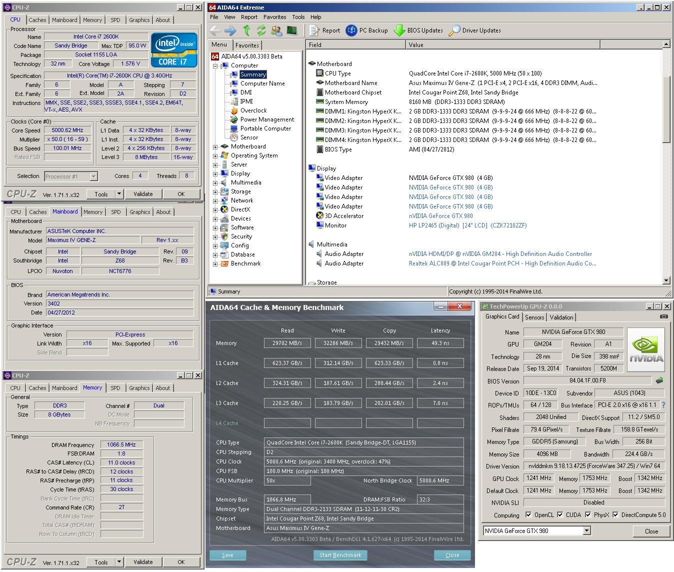 GeForce GTX 980 ROG Matrix