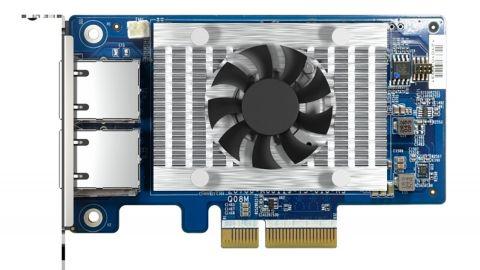 QNAP nabídne duální síťovou kartu 10GbE s SR-IOV a iSCSI