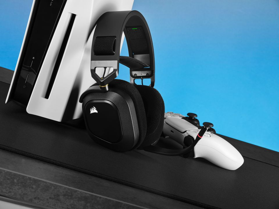 Corsair HS80 RGB Wireless – tvrdá konkurence bezdrátových headsetů