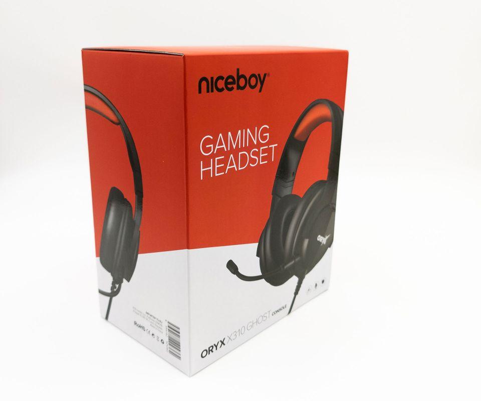 Všestranná herní sluchátka ORYX X310 Ghost k PC i konzoli