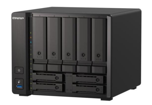 QNAP TS-h973AX je nový NAS s Ryzenem a 10GbE