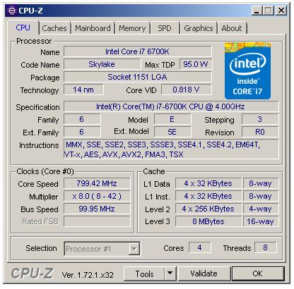 Test Core i7-6700K (Skylake) a Core i7-5775C (Broadwell)