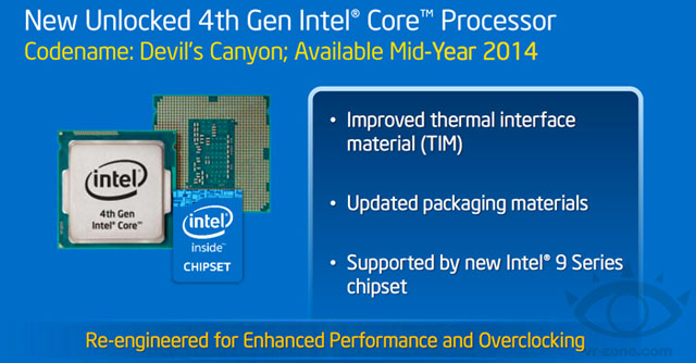 """Procesory """"Devil's Canyon"""" mají potenciál k překonání hranice 5 GHz při chlazení vzduchem"""