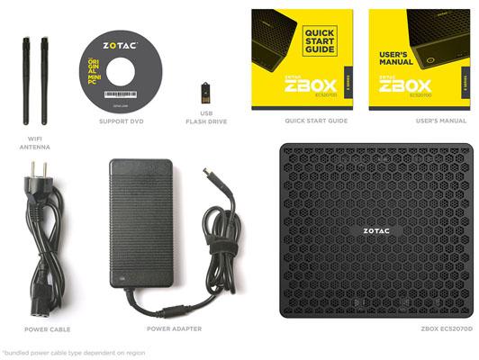 Zotac Magnus EC52070D: miniaturní PC série ZBOX s výkonnou grafikou RTX 2070