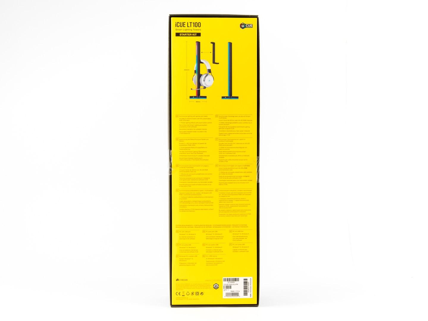 Corsair iCUE LS100 a iCUE LT100: Nejen pro fanoušky LED