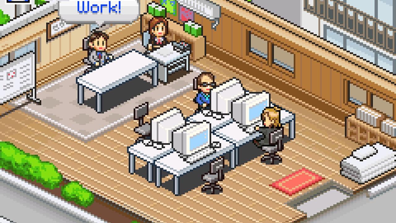 Game Dev Story – mobilní hra o vývoji her.
