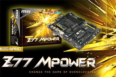 MSI Z77 M-Power – nejvyšší model od MSI pro taktovače
