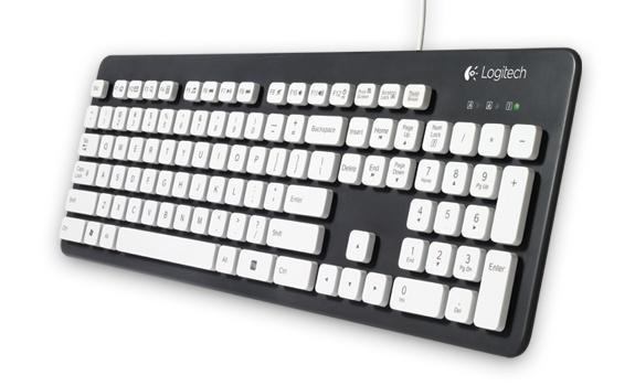 Test klávesnice Logitech K310 –  pište klidně pod vodou