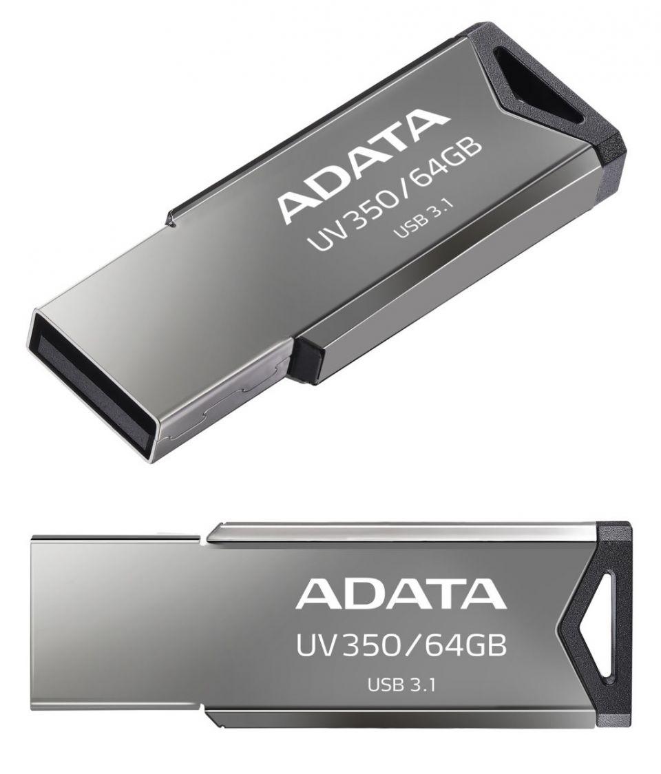 ADATA představuje USB disk UV350 s kapacitou až 64 GB