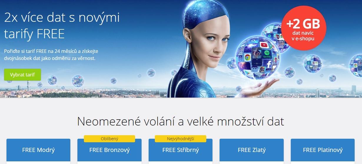 O2 novým zákazníkům dá navíc 2 GB na každý měsíc