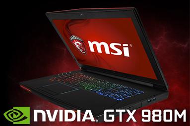 MSI GT72 Dominator Pro: monstrum s GeForce GTX 980M