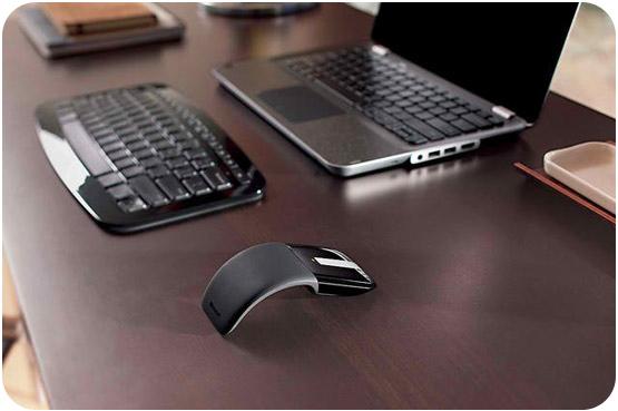 Microsoft ArcTouch - první myš s opravdovou páteří