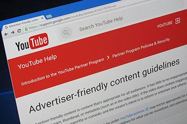 YouTube vs tvůrci: Příjmy z reklam už jen pro správná videa