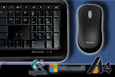 Logitech, Microsoft a A4Tech: bezdrátové sety do 700 Kč v testu