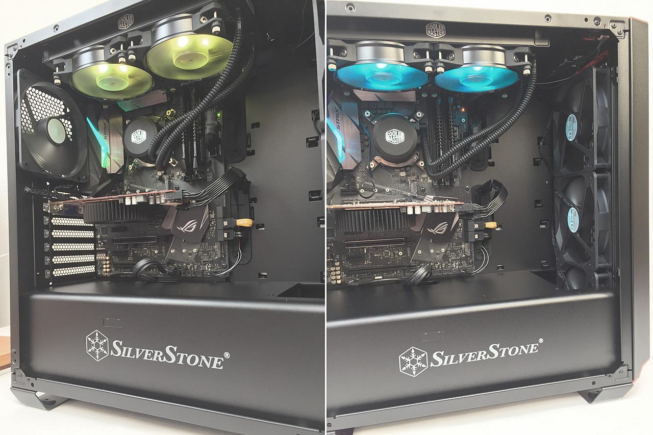 SilverStone PM02 – celokovová skříň s projektorem