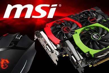 Vyhlášení soutěže s MSI o GTX 970, GTX 960 a herní myš