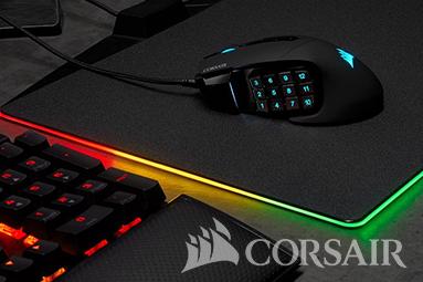 Corsair Scimitar RGB Elite: myší klaviatura pod palcem pro RPG!