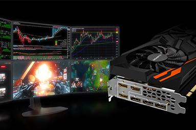 Radeon RX Vega 56 od Gigabyte v testu: rarita pro šest LCD