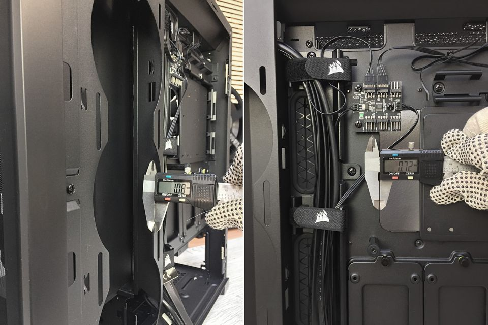 Test skříně Corsair 5000D AIRFLOW – někdo to rád chladné