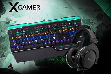 Soutěž o herní klávesnice, myši a sluchátka X-Gamer