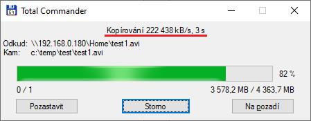 Maximum co se mi na Wi-Fi 6 podařilo dosáhnout