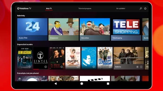 Vodafone TV v Česku začala nabízet obsah v rozlišení 4K