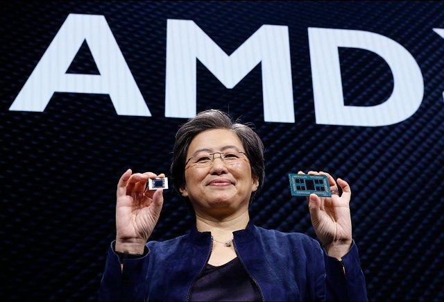 Lisa Su na CES 2020 (zdroj: AMD)