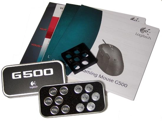 Logitech G500 - zajímavá evoluce herního skvostu G5