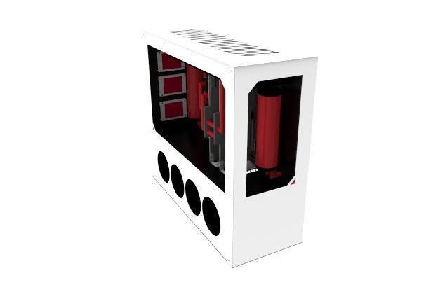 Projekt VF8: Stavba skříně pro výkonný počítač po svém