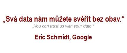 Úvaha: Data nám můžete svěřit bez obav, drazí blázni