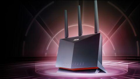 Router Asus RT-AX86U prakticky: Porty a bezpečnost