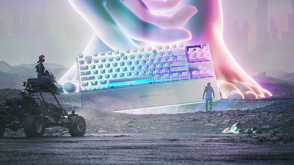 SteelSeries představuje speciální klávesnici a myš Apex 7 TKL Ghost a Aerox 3 Wireless Ghost