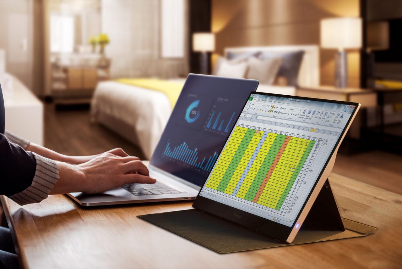 ViewSonic představuje přenosné monitory TD1655 a VG1655