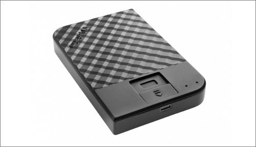 Verbatim Fingerprint Secure: externí disk s biometrickým přístupem