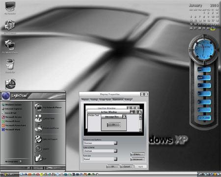 Úpravy vzhledu WinXP (1): Vymeťte pavučiny!