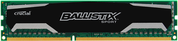 Paměťový modul DDR3 Crucial Ballistix Sport