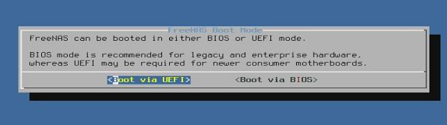Instalace UEFI nebo BIOS