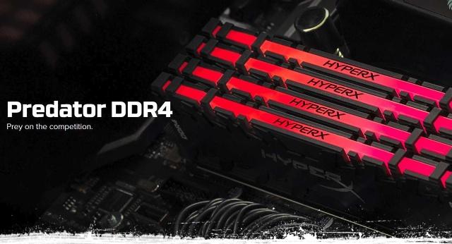 Kingston Predator HyperX RGB DDR4-2933 (32 GB) v testu