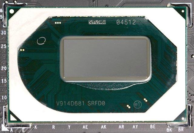 Procesor Intel Core i7–10875H (8 jader Comet Lake)