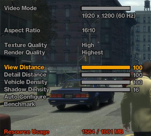 Grand Theft Auto IV - prověří váš hardware