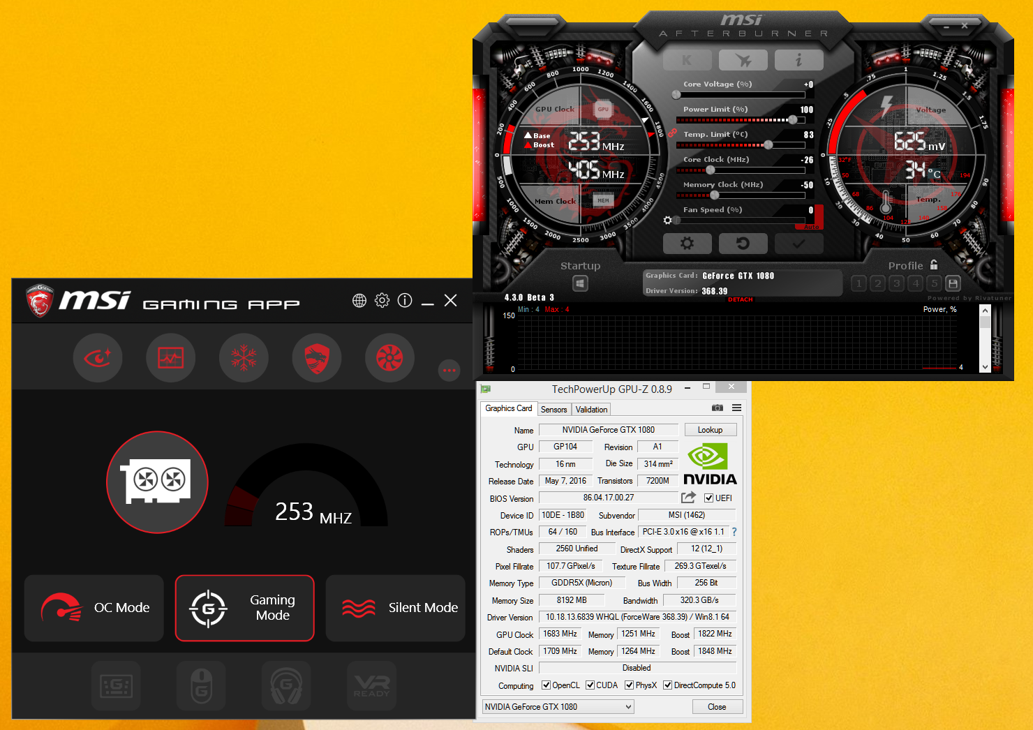 Test MSI GeForce GTX 1080 Gaming X: bez kompromisů!